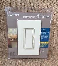 Lutron Dvw-600Ph-Al 600-Watt Single Pole Dimmer Almond Paddle Switch New