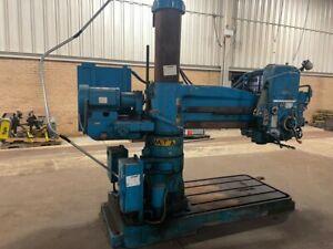 Radial Drill Press Metalworking