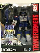 Transformers Titans Return Soundwave with SoundBlaster Generations  Hasbro NEW