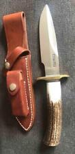 VINTAGE CUSTOM RANDALL STAG RKSA CLUB KNIFE c 1990 UNUSED