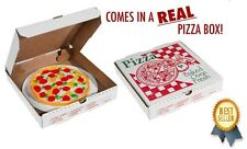 NEW Gummy Pizza Pie in a Box Realistic Party Candy Gift