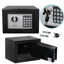 Electronic Safe Security Box Gun Money Passport Home Hotel Office Wall Cabinet