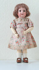 Bleuette  SFBJ 60  Ref :C   27 cm   Poupée Ancienne  Reproduction  Antique  Doll