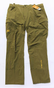 First Lite Men's Corrugate Cargo Guide Pants SV3 Dry Earth Size 2X NWT