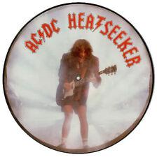 "EX! AC/DC HEATSEEKER 12""  VINYL PICTURE PIC DISC"