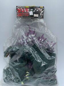 "2000 Banpresto Godzilla Large Vinyl Millennium Figure 30cm 12"" GREEN NEW IN BAG"