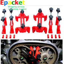 5 x Dual Cam Clamp Camshaft Engine Timing Locking Tool Sprocket Gear  Kit NEW HS