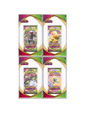 LOT 4 DIFFERENTS BOOSTERS POKEMON EB04 VOLTAGE ECLATANT NEUFS SOUS BLISTERS