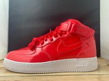 release date: 21c8b b2bbf Nike Air Force 1 Mid 07 LV7 AF1 SIREN RED PINK PATENT LEATHER AO0702-600