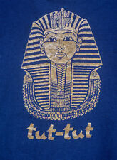 Tutankhamun Tut Tut T-Shirt 1977 Funky Tut's Golden Funeral Mask from Exhibition