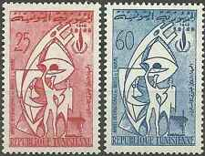 Timbres Tunisie 633/4 ** lot 14686