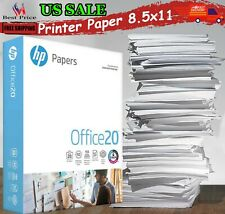 Printer Paper Home Office Copy Print Letter Office 20 500 Sheets 1 Ream 8.5x11