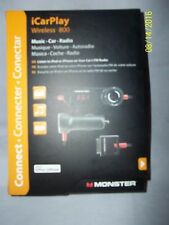 Monster iCarPlay Wireless 800 Music-Car-FM Radio for Ipod and Apple