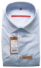 SIGNUM Hemd Kurzarm Comfort NEU / Gr. L / Baumwolle / Webmuster/ S3.0284