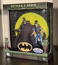 Batman & Robin Figure Set Mattel DC Comics TRU ToysRUs Exclusive Blue Variant