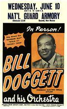 "Bill Doggett Armory 16"" x 12"" Photo Repro Concert Poster"