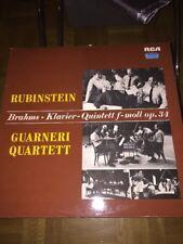 Johannes Brahms LP Klavier Quintett F-Moll Op 34 Rubinstein