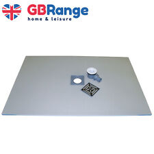 Wet Room Kit Walk in Shower Tray Base Drain Linear Round Floor Level 1400x900mm