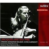 SCHUMANN: CELLO CONC. / BRAHMS: PIANO CONC. NO.1, Jacqueline du Pre, Audio CD, N