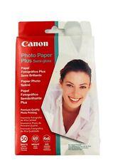 "Canon Photo Paper Plus Semi-Gloss, 4 x 6"", 50 Sheets"