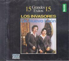 Los Invasores De Nuevo Leon 15 Grandes Exitos CD New