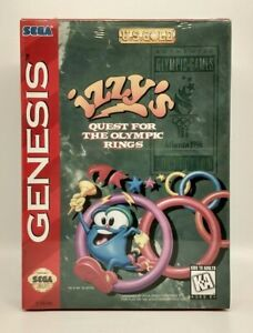 Izzy's Quest for the Olympic Rings (Sega Genesis) Brand New, Factory Sealed NM+
