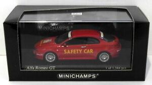 Minichamps 1/43 Scale 400 120360 - 2004 Alfa Romeo GT Beru Top 10 Safety Car Red