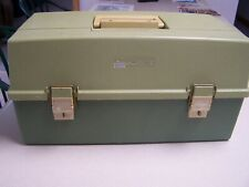 Plano 7420 Tackle Box with fold out tray Made in Usa Nice Shape