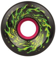 "SANTA CRUZ ""Slime Balls - OG Slime"" Skateboard Wheels 60mm 78a BLACK Soft Cruise"