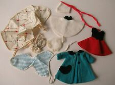 8 In American Character Betsy Mccall Doll Clothes-Cape,2 Hats,Coat,On Ice- 8 Pcs