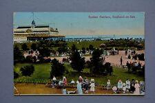 R&L Postcard: Sunken Gardens Southend, 1920s