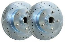 1971-1987 Chevy & GMC 5-Lug Disc Brake Rotor - Drilled, Slotted and Zinc Coated