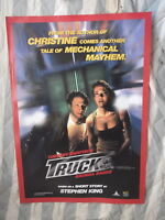 TRUCK  1 SHEET MOVIE POSTER VIDEO