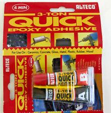 Alteco 3-Ton Quick Epoxid-Kleber, Zwei Komponentenkleber,10g