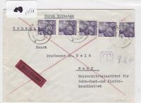 German Postal History Stamps Cover 1954  Ref 8784