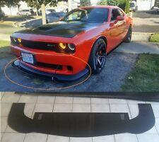 Dodge Hellcat Challenger front splitter