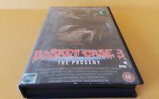 Basket Case 3..Vintage Big Box Ex Rental VHS Cert 18