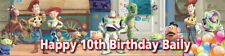 Toy Story Personalised Birthday Banner Kids Party Idea Hanging Decoration