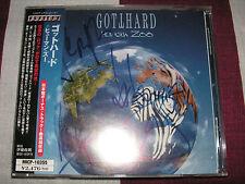 GOTTHARD - Human Zoo + 1 (2003) *JAPAN CD* AUTOGRAPHED!!!!! *MINT*