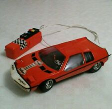 VERY RARE COLLECTABLE VINTAGE 1970'S WIRED REMOTE CONTROL CAR BMW M1