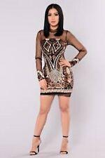 FASHION NOVA Marquee Sequin Dress - Black~NWTS~XL