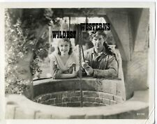 JEANETTE MACDONALD and NELSON EDDY Vintage PHOTO Original COONSKIN CAP rare MGM