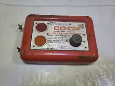 vintage Co-op electric fence charger weed-o-matic Northern signal Saukville Wi
