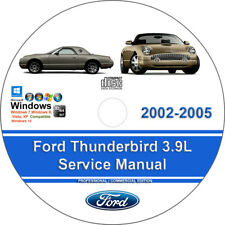 repair manuals literature for ford thunderbird ebay rh ebay com
