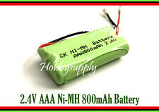 2.4V AAA Ni-MH 800mAh Rechargeable Battery w/. Universal Plug for Cordless Phone