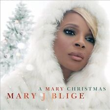 MARY J. BLIGE - A MARY CHRISTMAS CD Brand New Sealed
