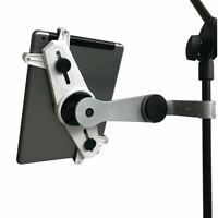 9HORN Microphone Mic Stand Tablet/Smartphone Mount 360° Rotating Cradle Holder -