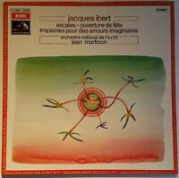 Jaques Ibert Escales - Ouverture de fete - Tropismes Jean Martinon EMI Stereo