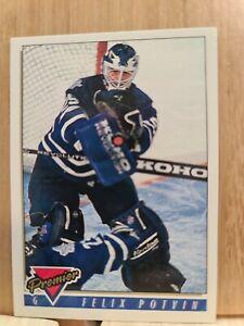 FELIX POTVIN🏆Topps 1993-94 Premier #30 NHLPA Card🏆 FREE POST