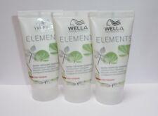 Wella Care Elements Stärkendes Conditioner   3 X 30ml